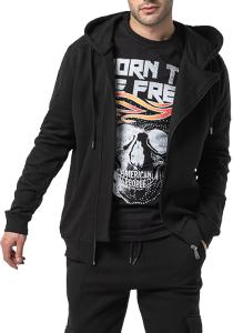 SWEAT SANTI HOMME BLACK