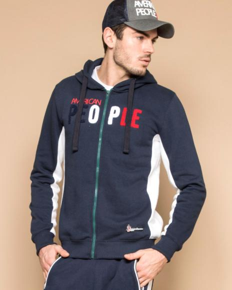 GILET ZIPPE HOMME PITTING