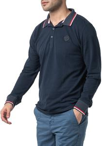 POLO ML PHAN HOMME DARK RED