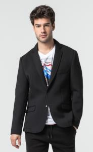 VESTE BLAZER POWER HOMME BLACK