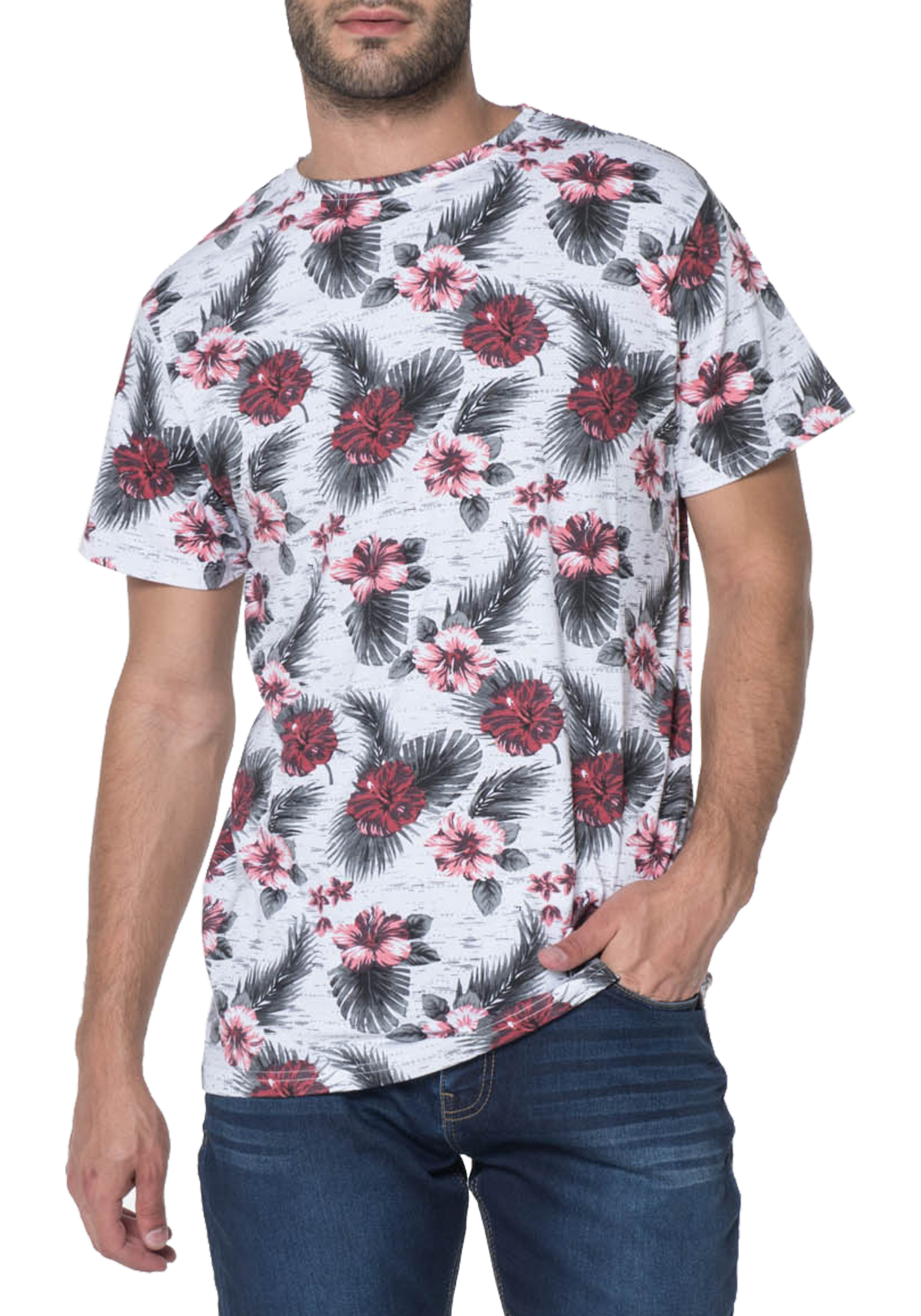 T-SHIRT HOMME MAGMA PINK
