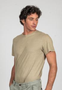 T-SHIRT TITO HOMME TAUPE