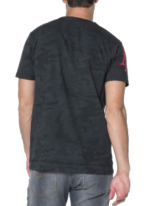 T-SHIRT HOMME MILKY BLACK