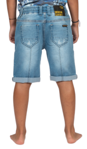 BERMUDA SOTER JUNIOR  LIGHT BLUE DENIM