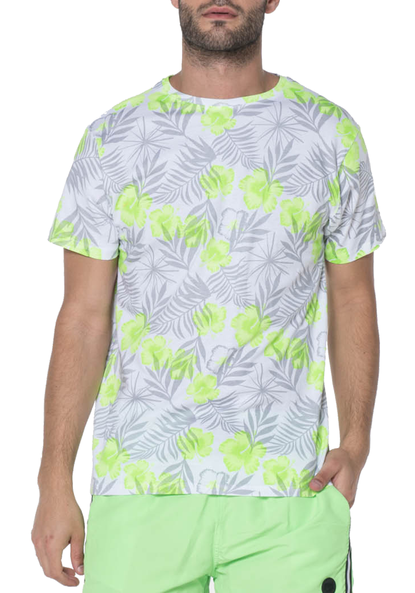 T-SHIRT HOMME MAGDA GREEN