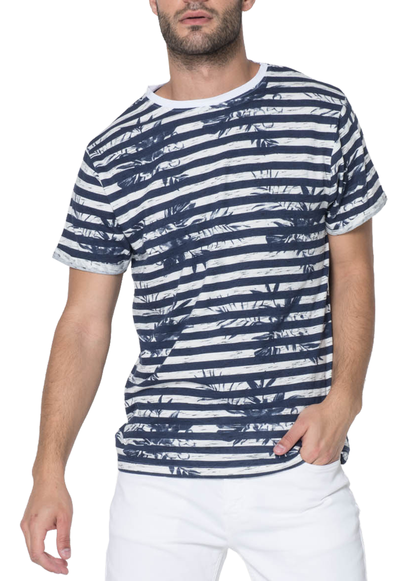 T-SHIRT HOMME MAGES NAVY
