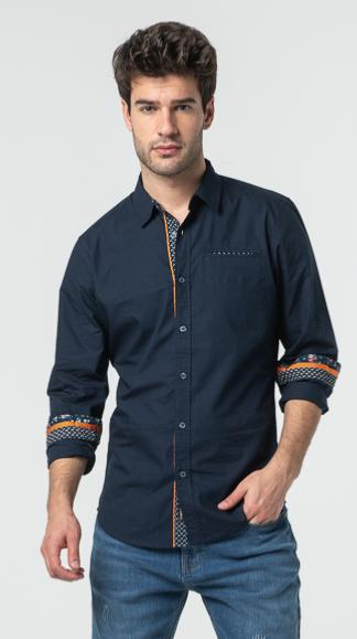 CHEMISE CALL HOMME NAVY