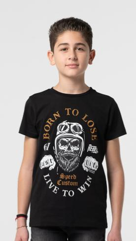 T-SHIRT TURLOCK JUNIOR BLACK