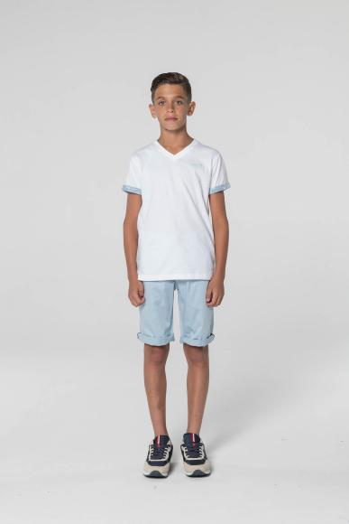 T-SHIRT JUNIOR MODAL WHITE