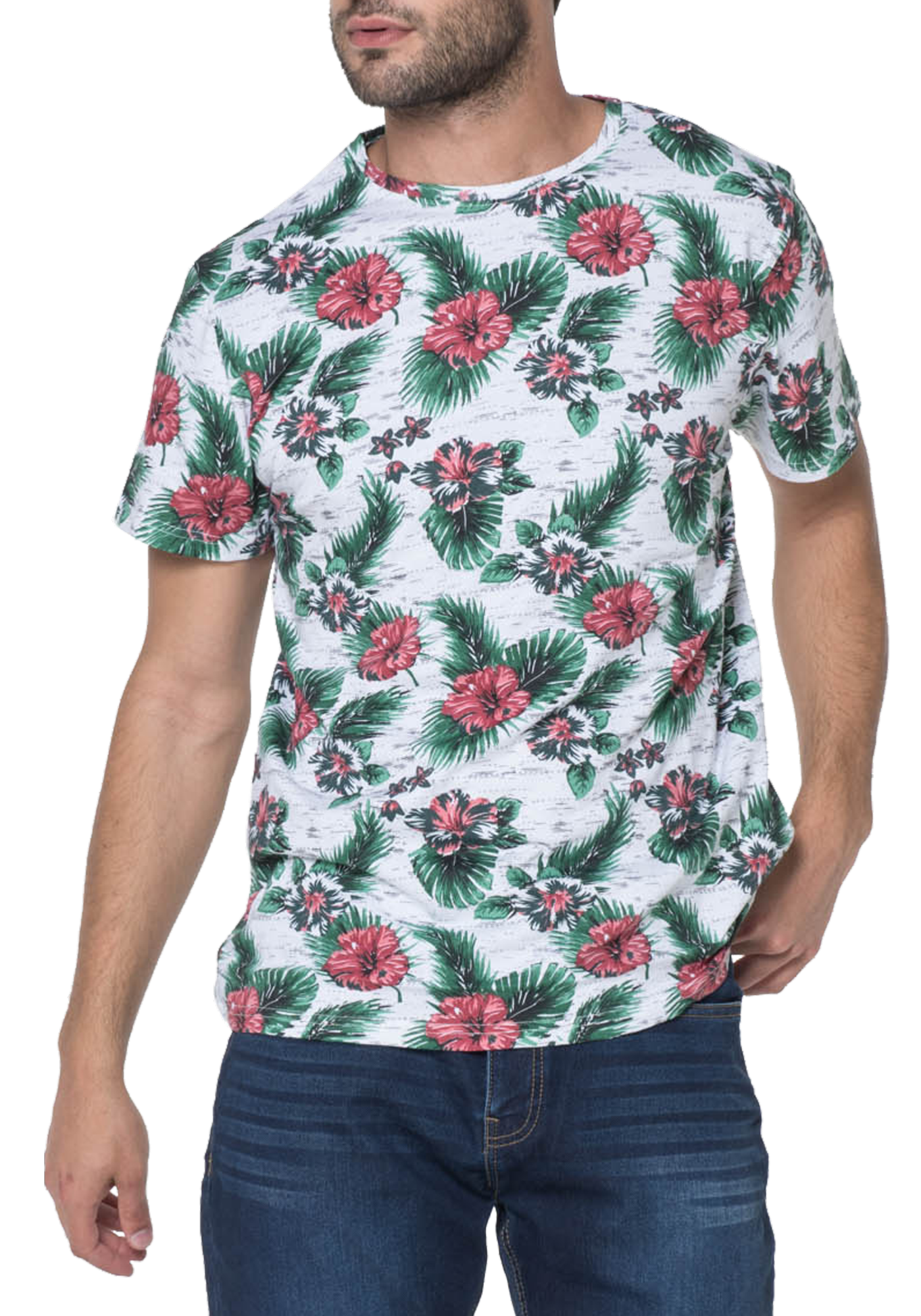 T-SHIRT HOMME MAGMA GREEN